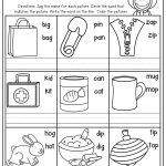 Cvc Worksheets For Kindergarten For Free Download   Math Worksheet | Cvc Worksheet Printable
