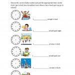 Daily Routines And Hours Worksheet – Free Esl Printable Worksheets | Daily Routines Printable Worksheets