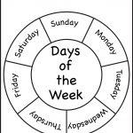 Days Of The Week | Days Of The Week! | Preschool, Preschool | Days Of The Week Printable Worksheets