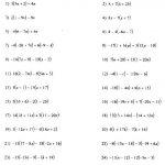 Distributive Property Worksheets 3Rd Grade To Free Download   Math | Free Printable Distributive Property Worksheets