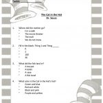 Dr Seuss   The Cat In The Hat Worksheet   Free Esl Printable | Cat In The Hat Free Printable Worksheets