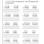 √ Printable Writing Worksheets For First Grade   Free Printable | Free Printable Language Worksheets