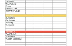 Easy Budget And Financial Planning Spreadsheet For Busy Families | Easy Budget Planner Free Printable Worksheets