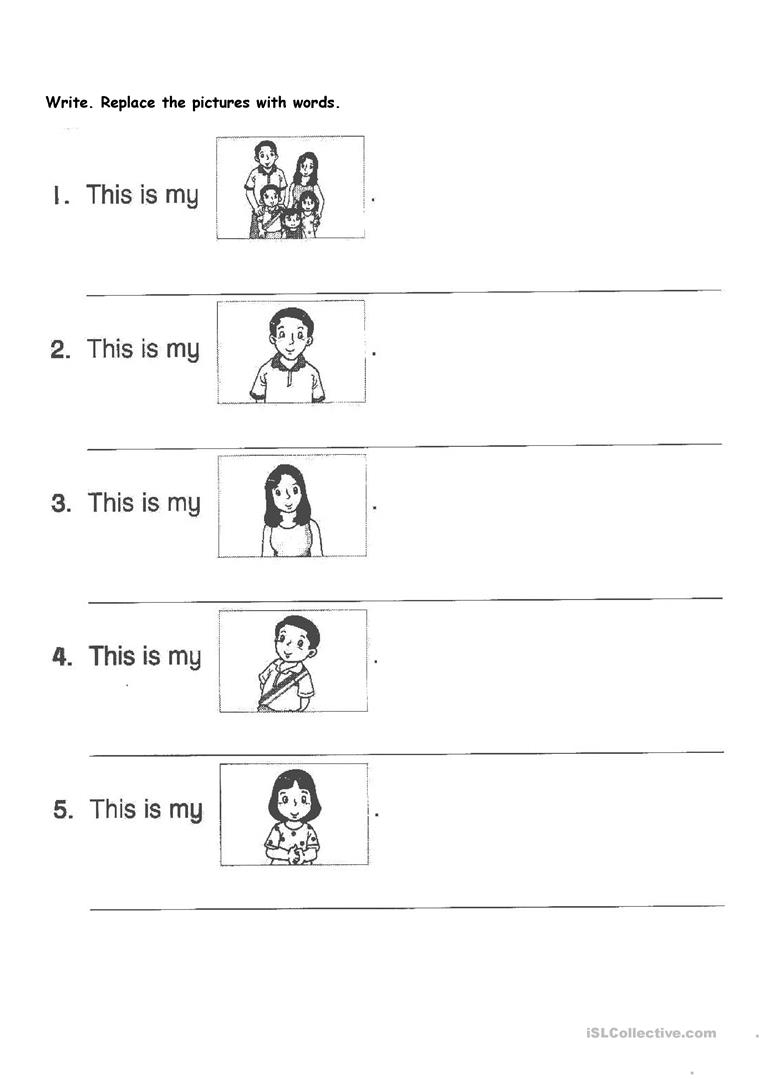 English Primary 1 Worksheet - Free Esl Printable Worksheets Made | Primary 1 Worksheets Printables