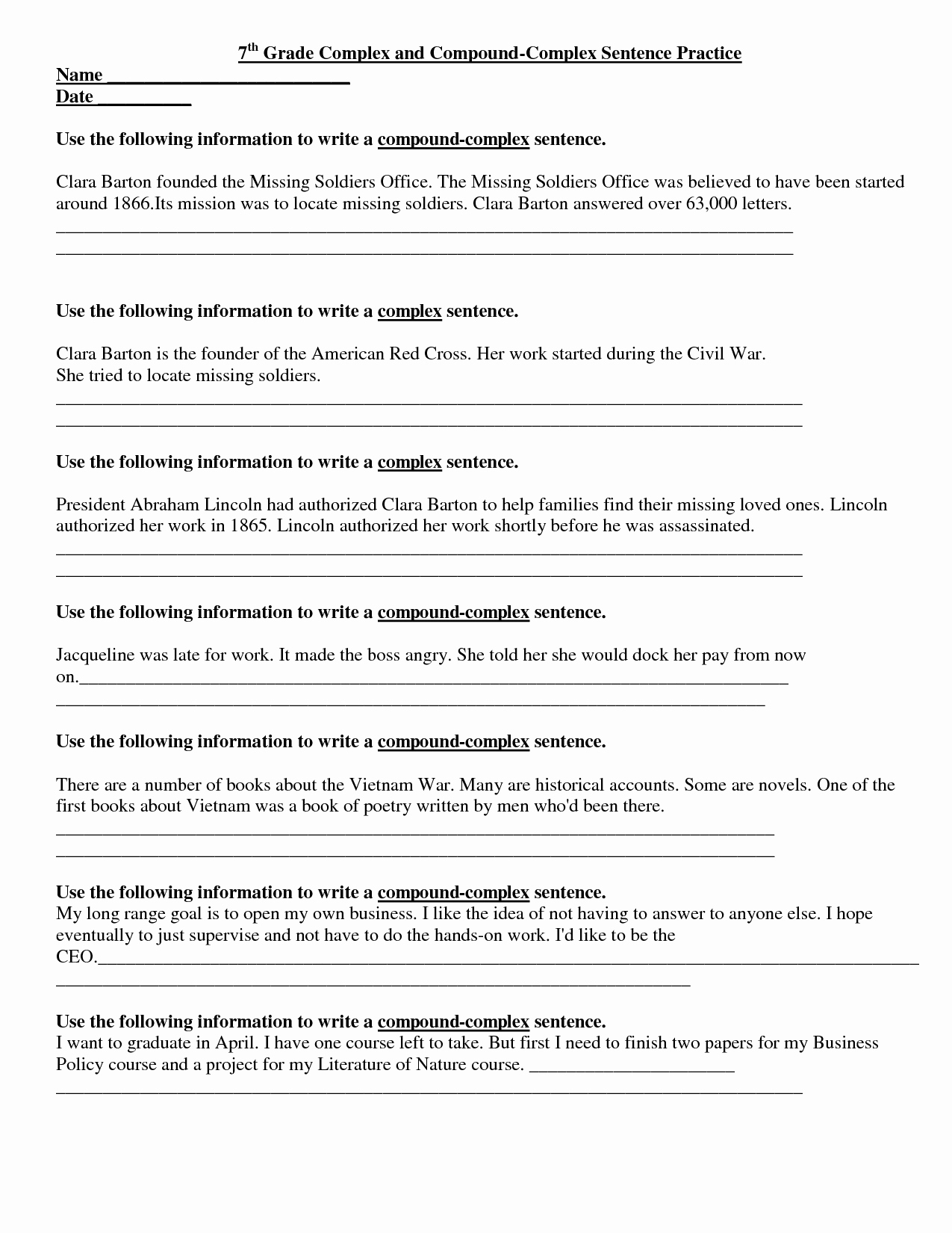 English Short Stories For Grade 4 Page 2 - Free Printable 7Th Grade | 7Th Grade Worksheets Free Printable