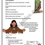 English Worksheets: The Indian In The Cupboard Project Part Two | Indian In The Cupboard Free Printable Worksheets