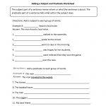 Englishlinx | Subject And Predicate Worksheets   9Th Grade English | 9Th Grade Printable Worksheets Free