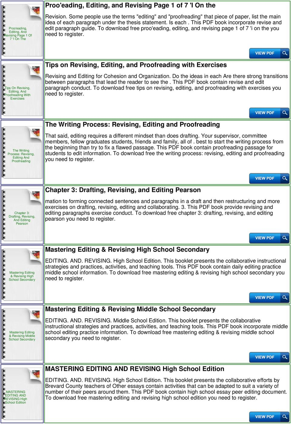 Essay To Edit Writing Resume Titles Examples Tips College Admission | Proofreading Worksheets Middle School Printable