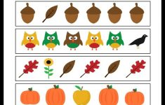 Free Printable Fall Math Worksheets