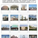 Famous Places In London Worksheet – Free Esl Printable Worksheets | London Worksheets Printable