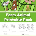 Farm Animal Addition And Subtraction Worksheets   The Moments At Home   Farm Animals Printable Worksheets
