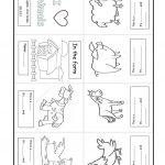 Farm Animal. Minibook Worksheet   Free Esl Printable Worksheets Made   Farm Animals Printable Worksheets