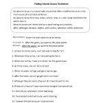 Finding Adverb Clauses Worksheet | Englishlinx Board | Adverbs | Year 10 English Worksheets Printable