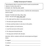 Finding Onomatopoeia Worksheet | English | Reading Worksheets | Literacy Worksheets Ks3 Printable