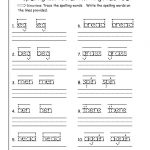 First Grade Writing Worksheets Free Printable – Worksheet Template | Free Printable 1St Grade Handwriting Worksheets