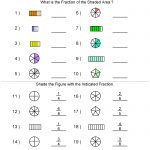 Fractions Worksheets | Printable Fractions Worksheets For Teachers | Fraction Worksheets 6Th Grade Printable