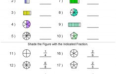 Fractions Worksheets | Printable Fractions Worksheets For Teachers | Free Printable 5 W's Worksheets