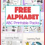 Free Alphabet Abc Printable Packs   Fun With Mama | Printable Abc Letters Worksheets