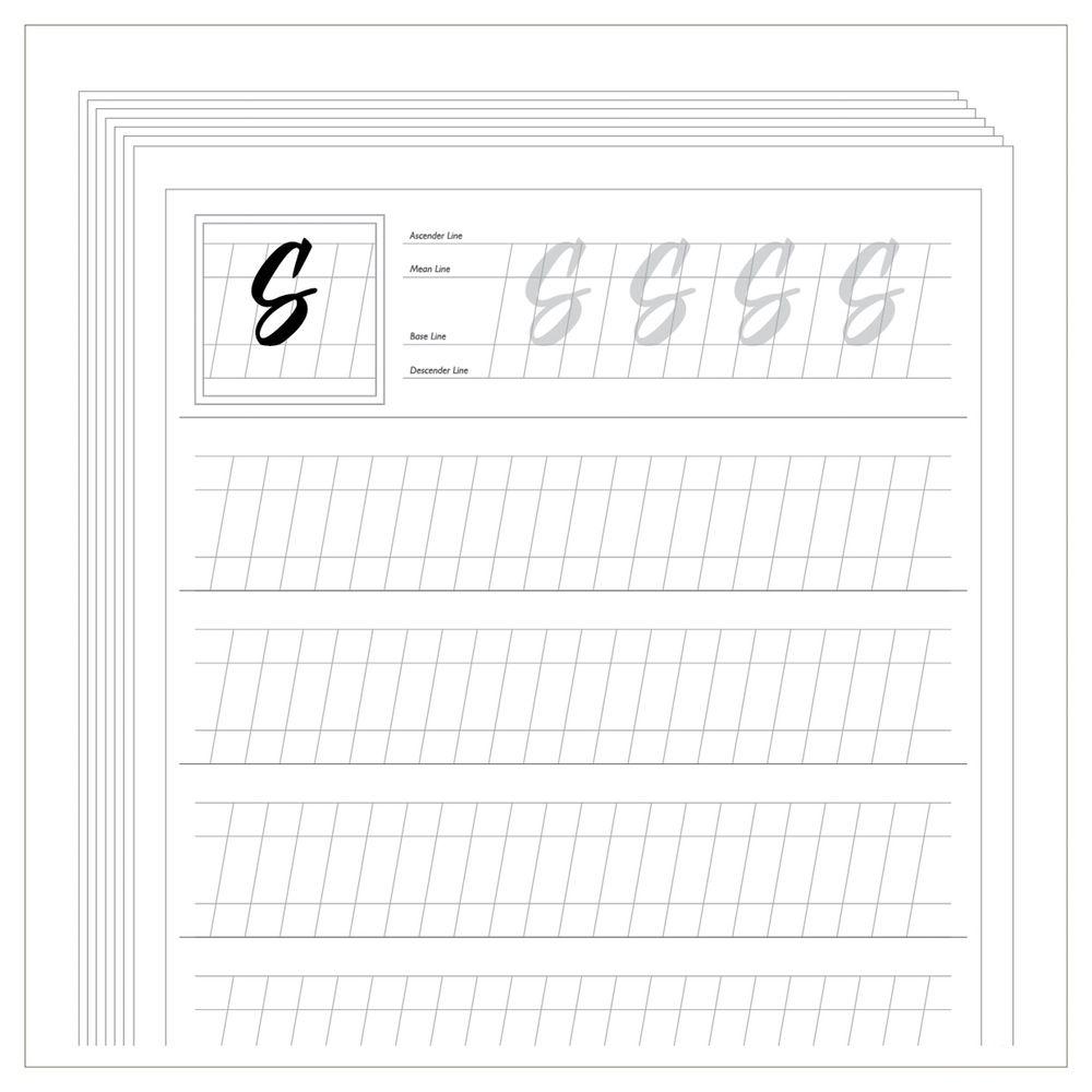 Free Calligraphy Worksheets Printable - Google Zoeken | Projects To | Free Printable Calligraphy Worksheets