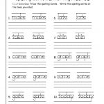 Free Handwriting Worksheets For First Grade – Favoritebook.club   First Grade Vocabulary Worksheets Printable