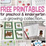 Free Preschool Printables For Your Homeschool Preschool | Free Homeschool Printable Worksheets