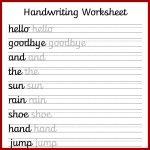 Free Preschool Writing Worksheets – With Kindergarten Handwriting   Free Printable Writing Worksheets For Kindergarten
