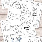 Free Printable Alphabet Book   Alphabet Worksheets For Pre K And K | Printable Worksheets For Preschoolers The Alphabets