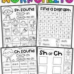 Free Printable Ch Digraph Worksheets | Free Printables | Sh Worksheets Free Printable
