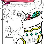 Free Printable Christmas Math Worksheets: Pre K, 1St Grade & 2Nd   Free Printable Christmas Math Worksheets For 2Nd Grade