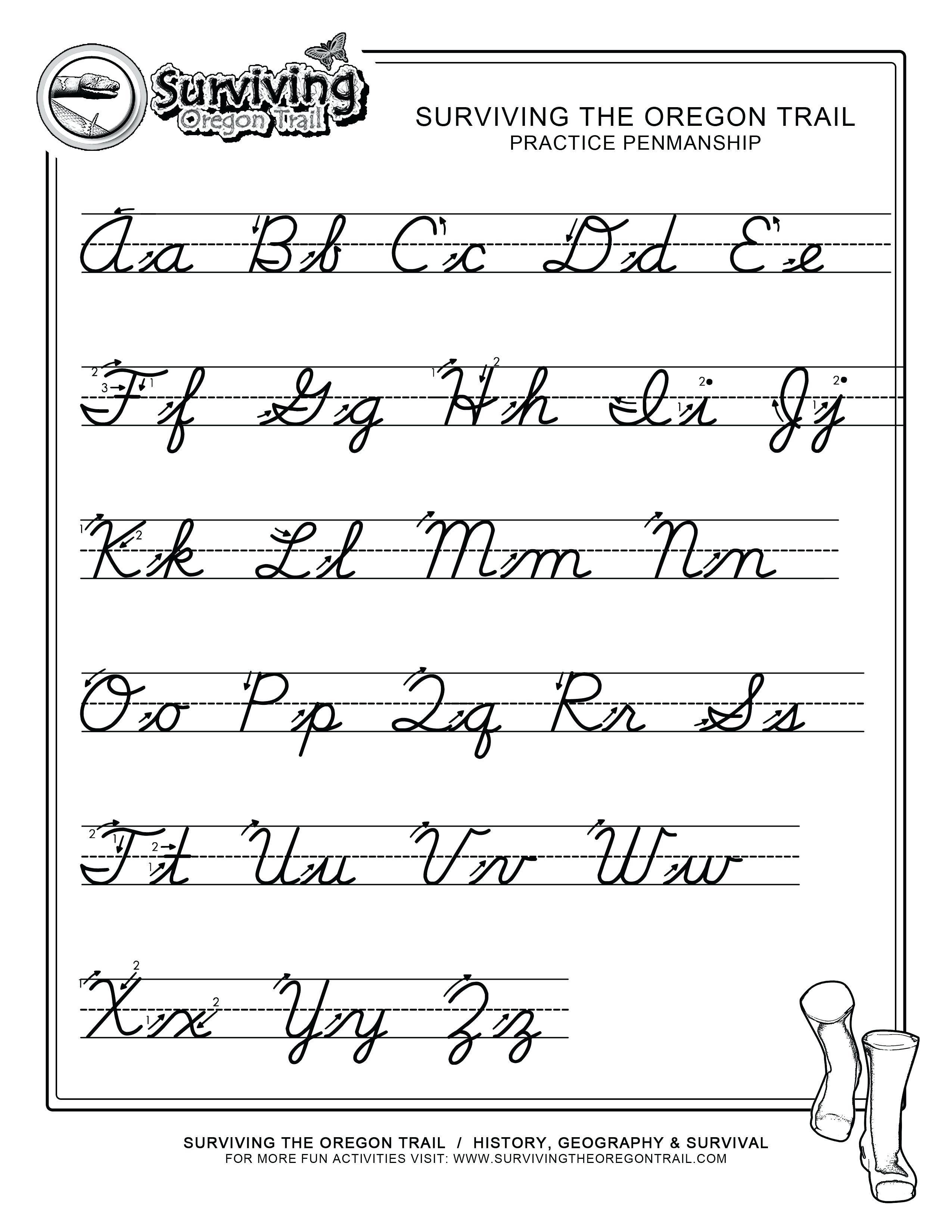 Free Printable Cursive Handwriting Worksheets | Free Printables | Free Printable Cursive Handwriting Worksheets