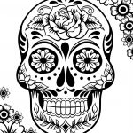 Free Printable Day Of The Dead Coloring Pages – Best Coloring Pages | Free Printable Day Of The Dead Worksheets