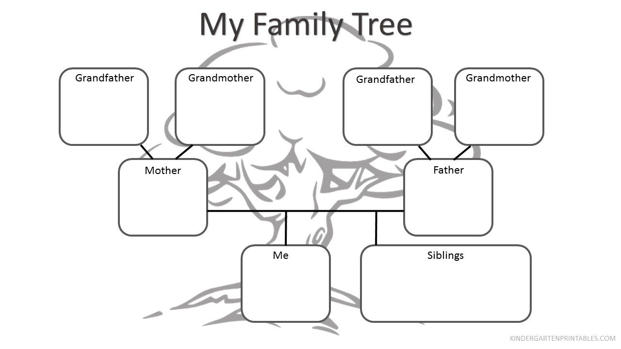 Free Printable Family Tree Worksheet Free Family Tree Worksheet - My | My Family Tree Free Printable Worksheets