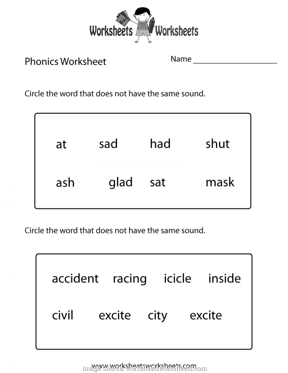 Free Printable First Grade Worksheets To Printable - Math Worksheet | Free Printable First Grade Worksheets