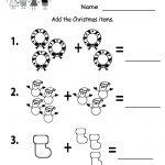 Free Printable Holiday Worksheets | Free Printable Kindergarten | Free Printable Christmas Math Worksheets Kindergarten