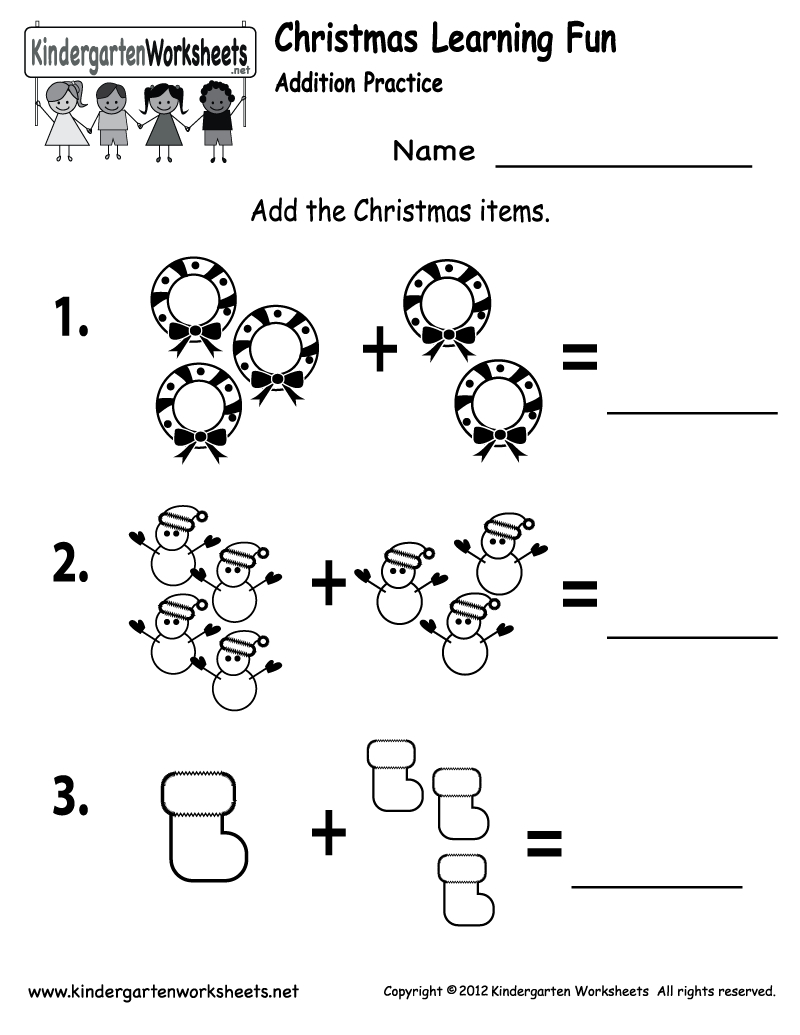 Free Printable Holiday Worksheets | Free Printable Kindergarten | Free Printable Holiday Worksheets
