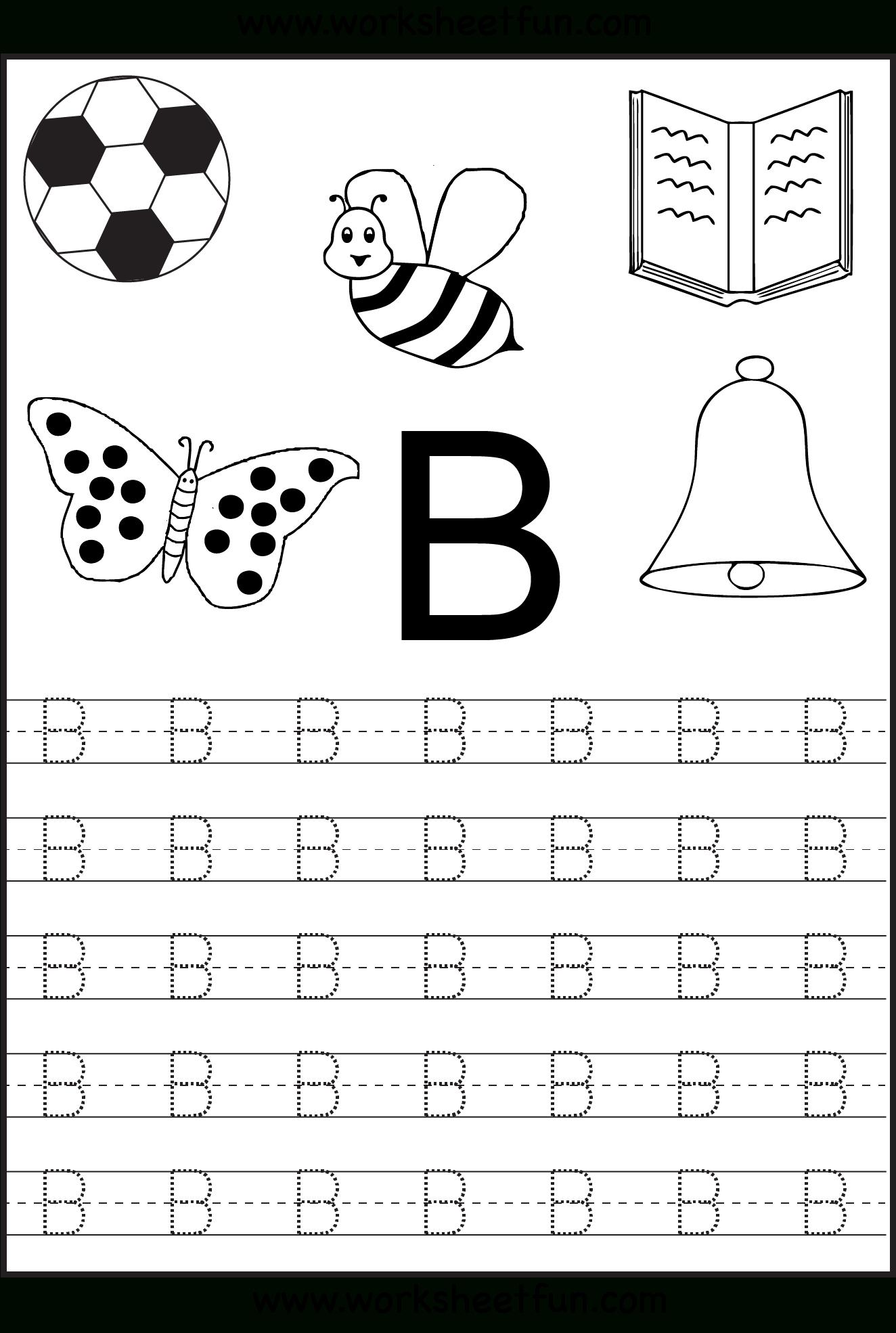 Free Printable Letter Tracing Worksheets For Kindergarten – 26 | Alphabet Worksheets For Preschoolers Printable