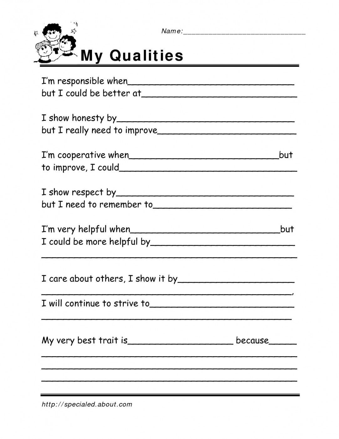 Free Printable Life Skills Worksheets For Adults | Lostranquillos | Printable Worksheets For Adults