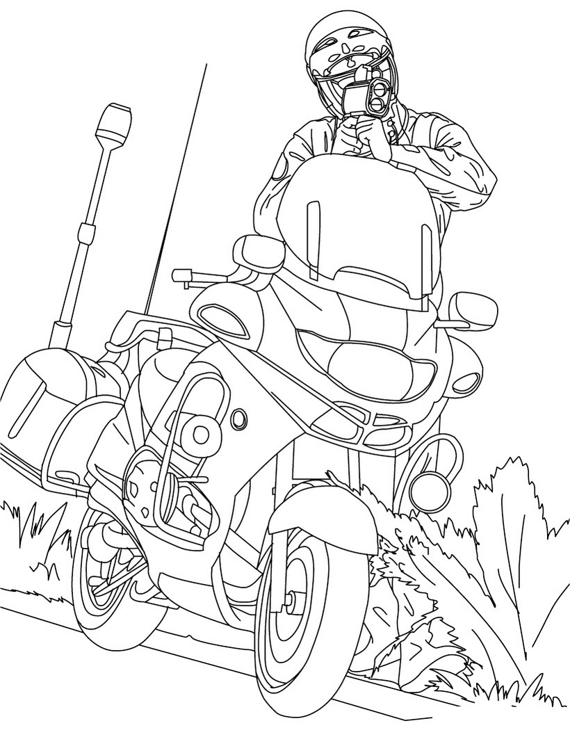 Free Printable Motorcycle Coloring Pages For Kids | The Mouse And The Motorcycle Free Printable Worksheets