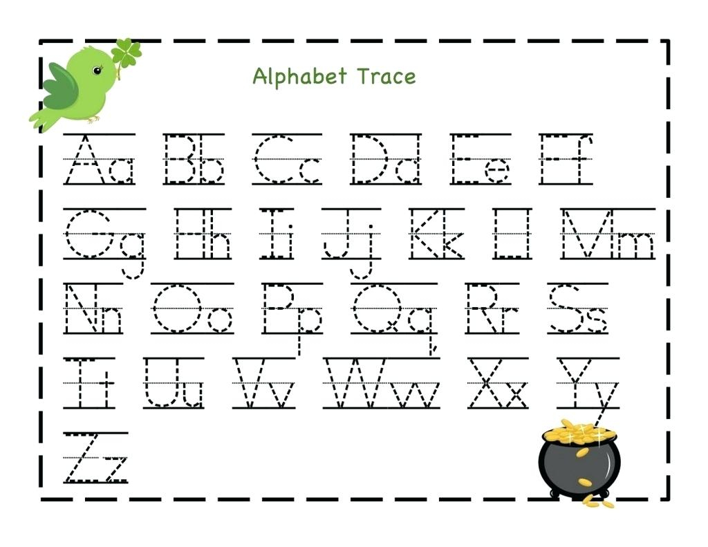 Free Printable Name Tracing Worksheets Free Kindergarten Capital | Free Printable Alphabet Tracing Worksheets For Kindergarten