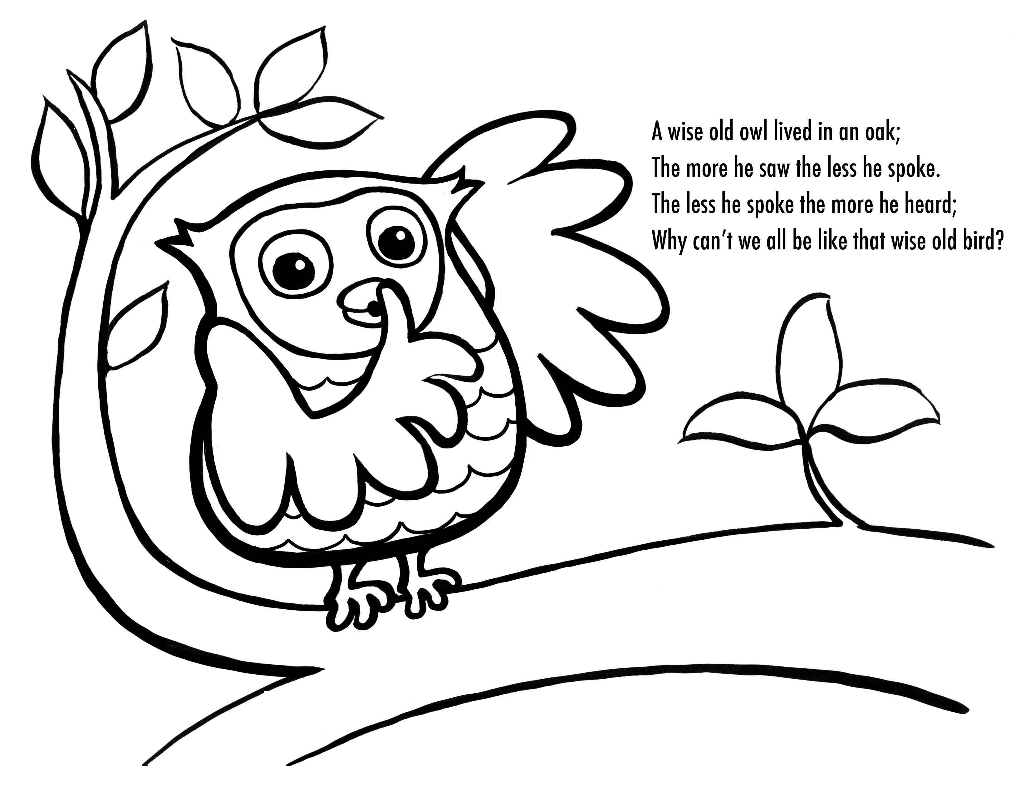 Free Printable Owl Coloring Pages For Kids | Owl Babies Printable Worksheets