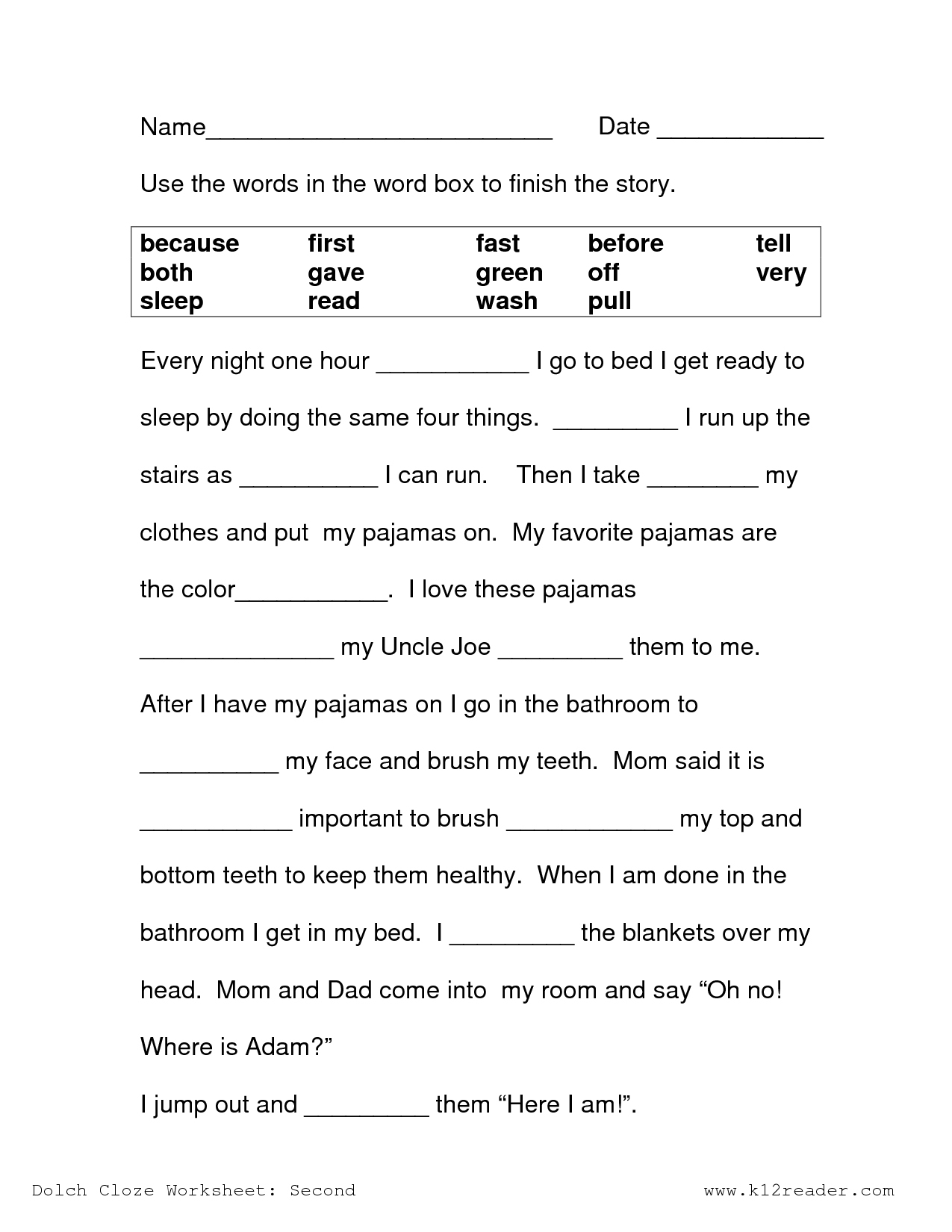 Free Printable Reading Comprehension Worksheets 3Rd Grade To Print | Free Printable Reading Comprehension Worksheets For 3Rd Grade