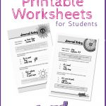 Free Printable Self Esteem Worksheet For Kids   Creative Teaching   Self Esteem Printable Worksheets For Kids