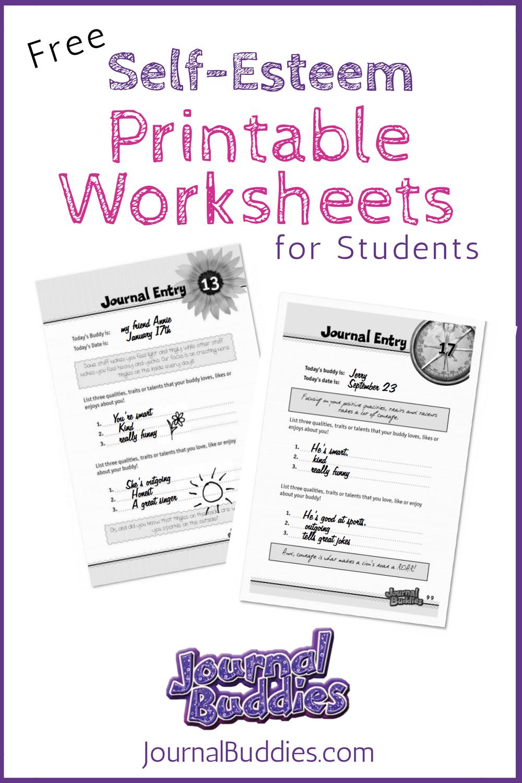Free Printable Self Esteem Worksheet For Kids | Creative Teaching | Self Esteem Worksheets For Kids Free Printable