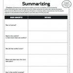 Free Printable Summarizing Worksheets 4Th Grade | Free Printable | Free Printable Summarizing Worksheets 4Th Grade