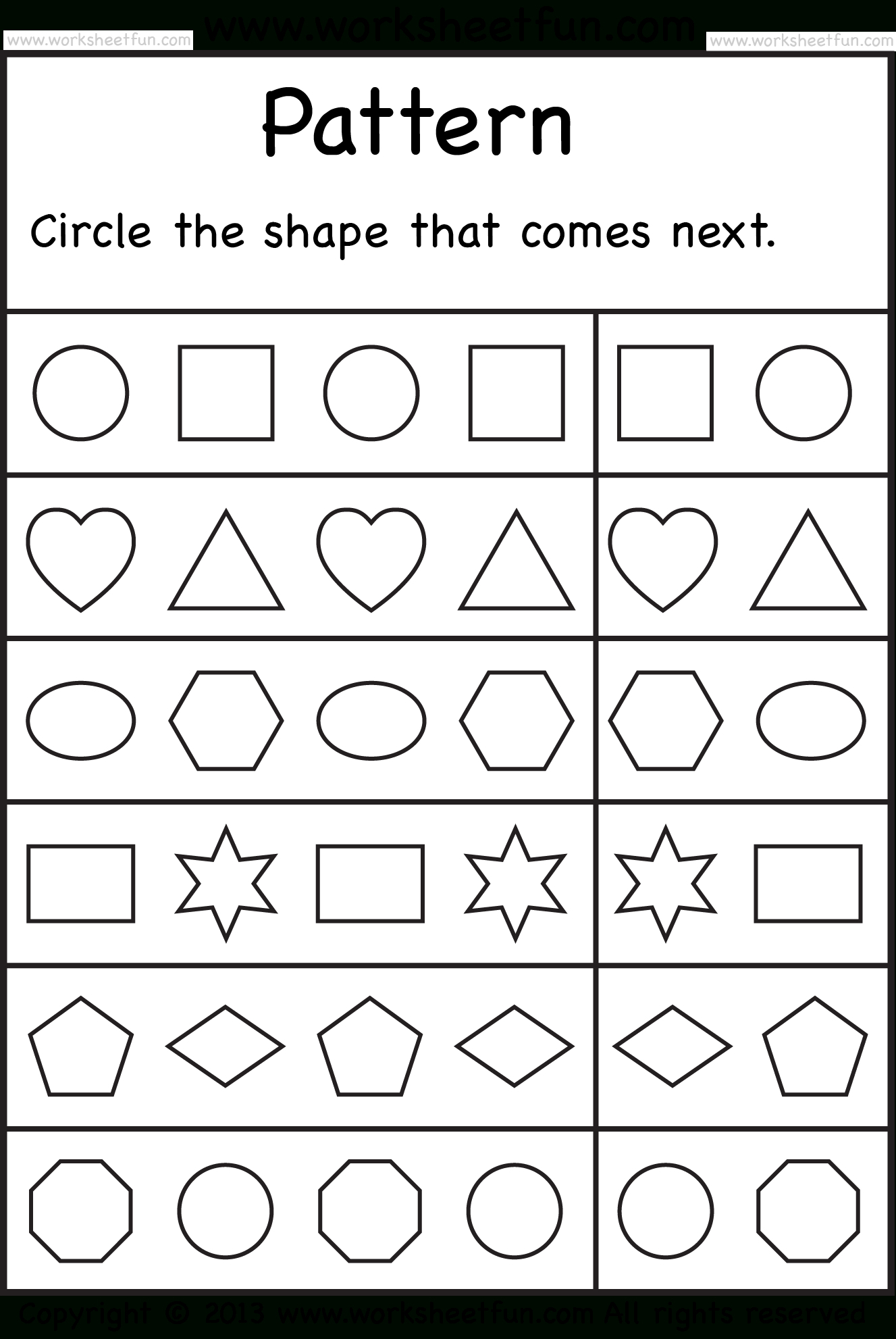 Free Printable Worksheets – Worksheetfun / Free Printable - Free | Free Printable Sequencing Worksheets For Kindergarten