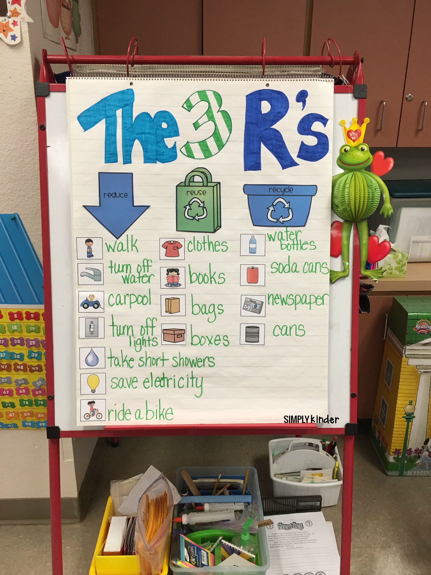 Free Recycling Sort - Simply Kinder - Free Printable Recycling | Free Printable Recycling Worksheets