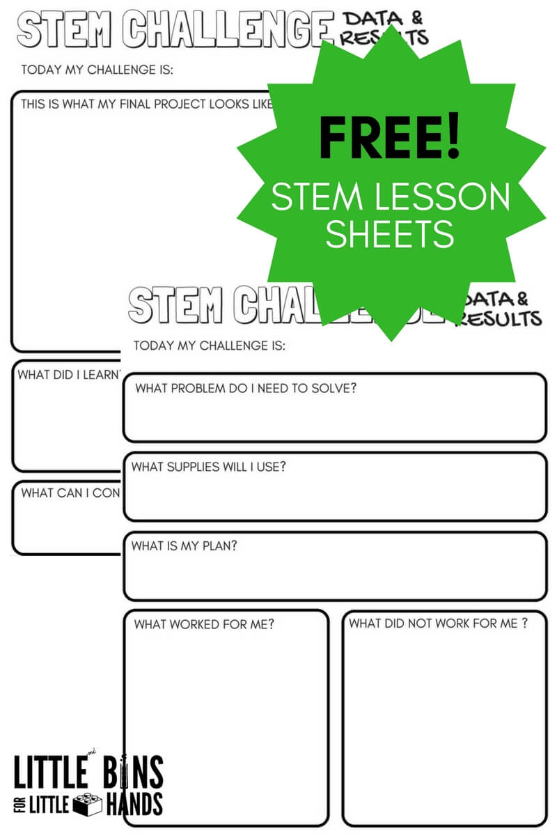 Free Science Worksheets For Kids | Little Bins For Little Hands | Free Printable Science Worksheets