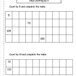 Free Skip Counting Worksheets | Free Printable Skip Counting Worksheets
