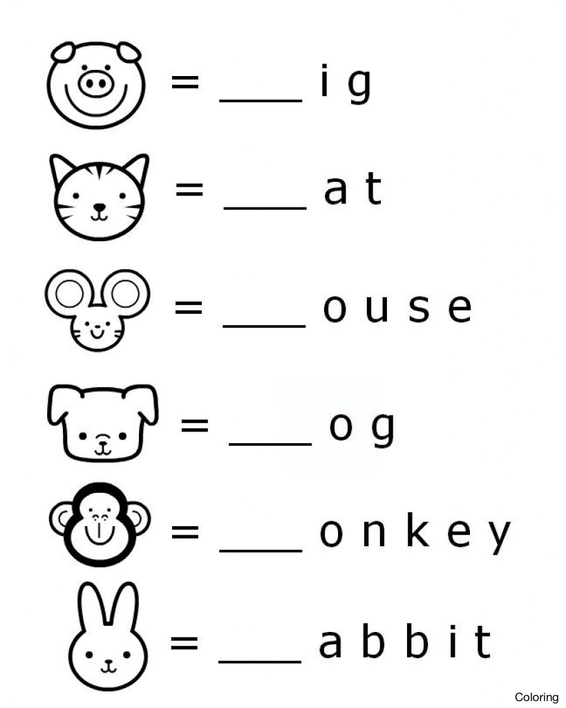 Fun Printables For Kids – With Free Coloring Sheets Also | Kindergarten Worksheets Printable Activities