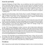 George Washington's Biography Worksheet   Free Esl Printable | George Washington Printable Worksheets